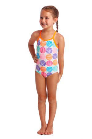 FUNKITA TODDLER GIRLS PRINTED ONE PIECE – COTTON CANDY