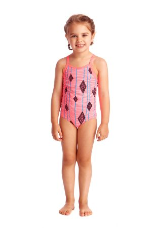 FUNKITA TODDLER GIRLS PRINTED ONE PIECE – FLYING HIGH