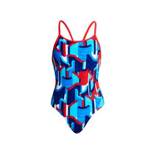 FUNKITA GIRLS DIAMOND BACK ONE PIECE – BLOCK ROCK