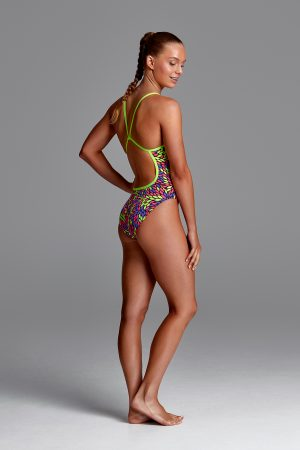 FUNKITA GIRLS SINGLE STRAP ONE PIECE – THE FALL