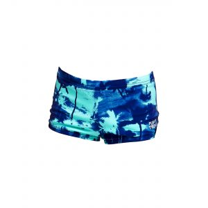 FUNKY TRUNKS TODDLER BOYS SQUARE TRUNKS – HAWAIIAN SKIES