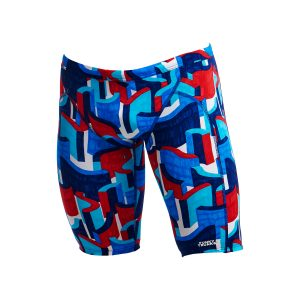 FUNKY TRUNKS MEN JAMMERS – BLOCK ROCK