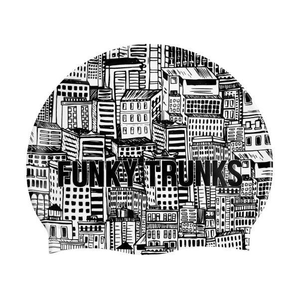 Funky Trunks Swimcap City Shadow by Jesswim