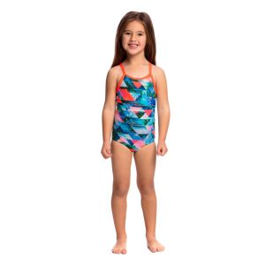 FUNKITA TODDLER GIRLS PRINTED ONE PIECE – SPLIT SCENE