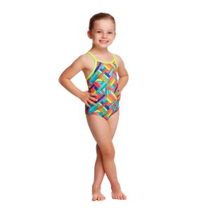 FUNKITA TODDLER GIRLS PRINTED ONE PIECE – PANEL POP