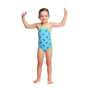 FUNKITA TODDLER GIRLS PRINTED ONE PIECE – TWEETY TWEET