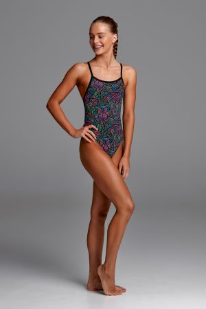 FUNKITA GIRLS SINGLE STRAP ONE PIECE – POISON POP