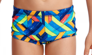 FUNKY TRUNKS TODDLER BOYS PRINTED TRUNKS – BOARDED UP