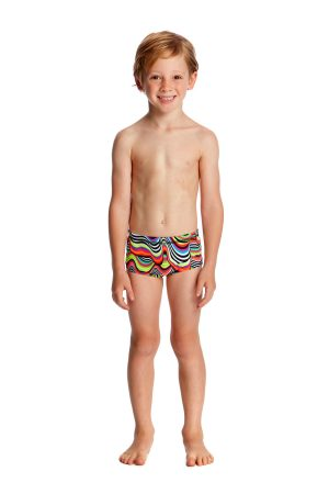 FUNKY TRUNKS TODDLER BOYS PRINTED TRUNKS – DRIPPING
