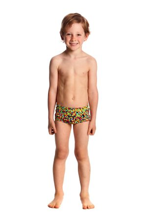 FUNKY TRUNKS TODDLER BOYS PRINTED TRUNKS – FIREWORKS