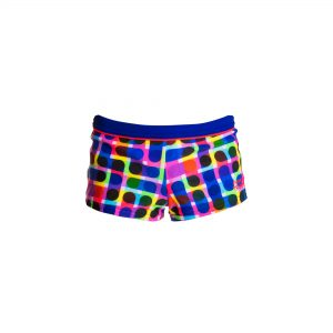 FUNKY TRUNKS TODDLER BOYS SQUARED TRUNKS – INKED
