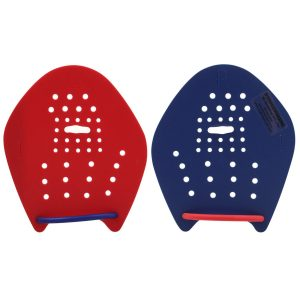 STROKEMAKERS HAND PADDLES S #1 RED & NAVY