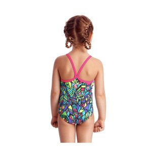 FUNKITA TODDLER GIRLS PRINTED ONE PIECE – FEATHER FIESTA