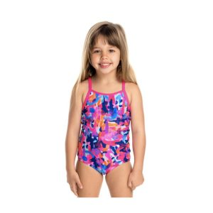 FUNKITA TODDLER GIRLS PRINTED ONE PIECE – PARTY ARMY