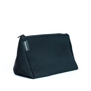COSMETIC BAG (BLACK) NEOPRENE BAG