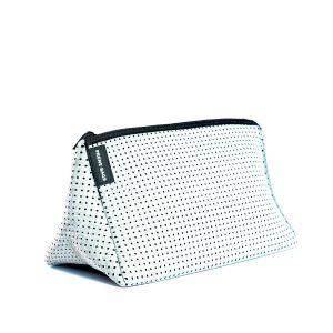 COSMETIC BAG (LIGHT GREY MARLE) NEOPRENE BAG