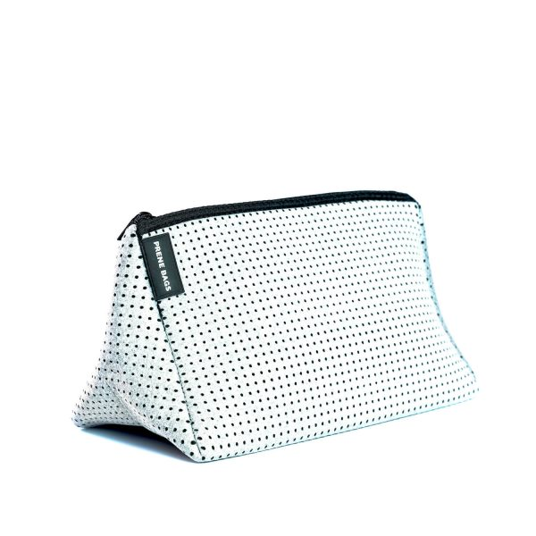 Prene bag cosmetic bag light grey marle by jesswim