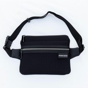 THE BUM / WAIST/ CHEST (BLACK) NEOPRENE BAG