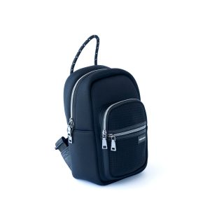 THE BACKPACK – MINI (BLACK) NEOPRENE BAG