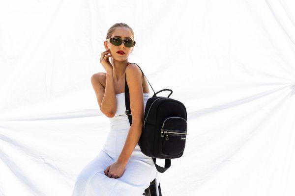 PRENE BAGS The Backpack Mini Black by Jesswim