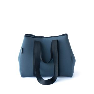 THE GIGI BAG (CHARCOAL) NEOPRENE TOTE BAG