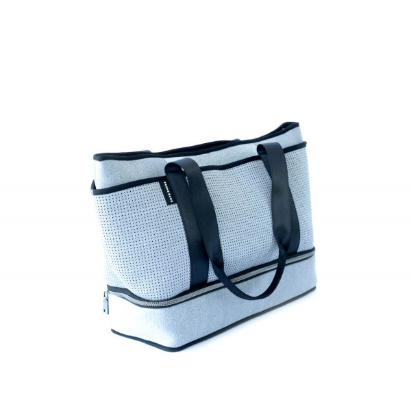 THE SUNDAY BAG LIGHT GREY MARLE by Jesswim