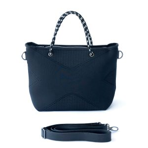 THE XS BAG (BLACK) NEOPRENE CROSSBODY/HAND BAG