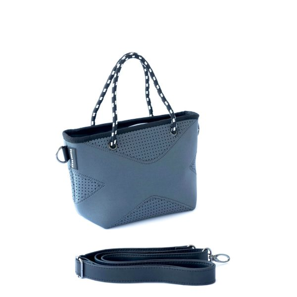 PRENE BAGS THE XXS BAG CHARCOAL CROSS BODIES TOTE BAG by Jesswim